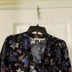 Collective Concept paisley print blouse